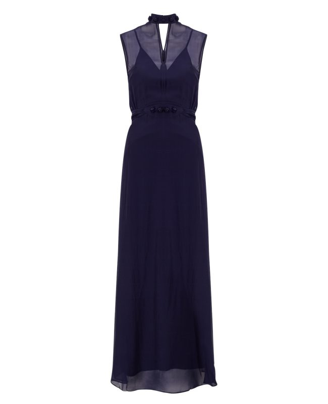 ANYA MAJ Naomi Dark Blue Dress