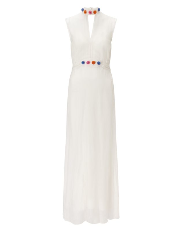 ANYA MAJ Naomi White Dress