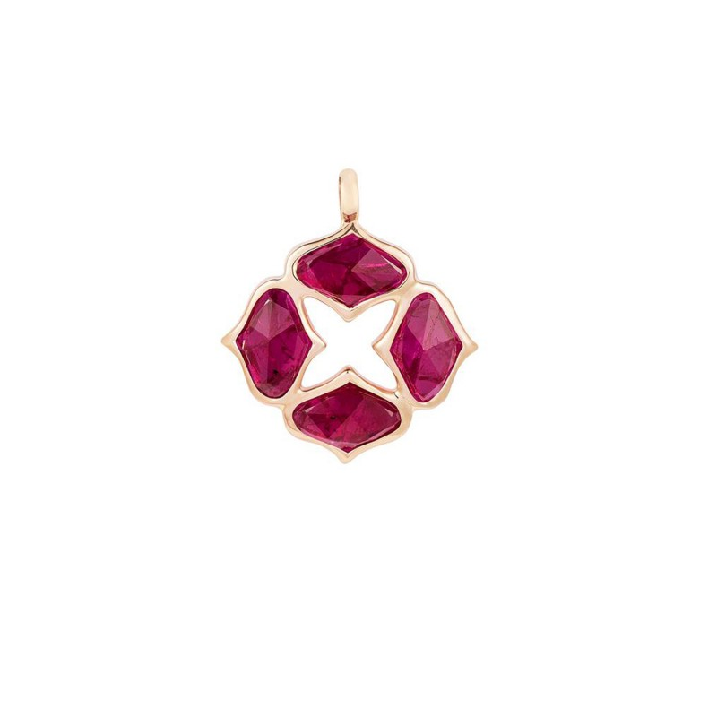 GYAN JEWELS RUBY PENDANT (WITHOUT CHAIN)