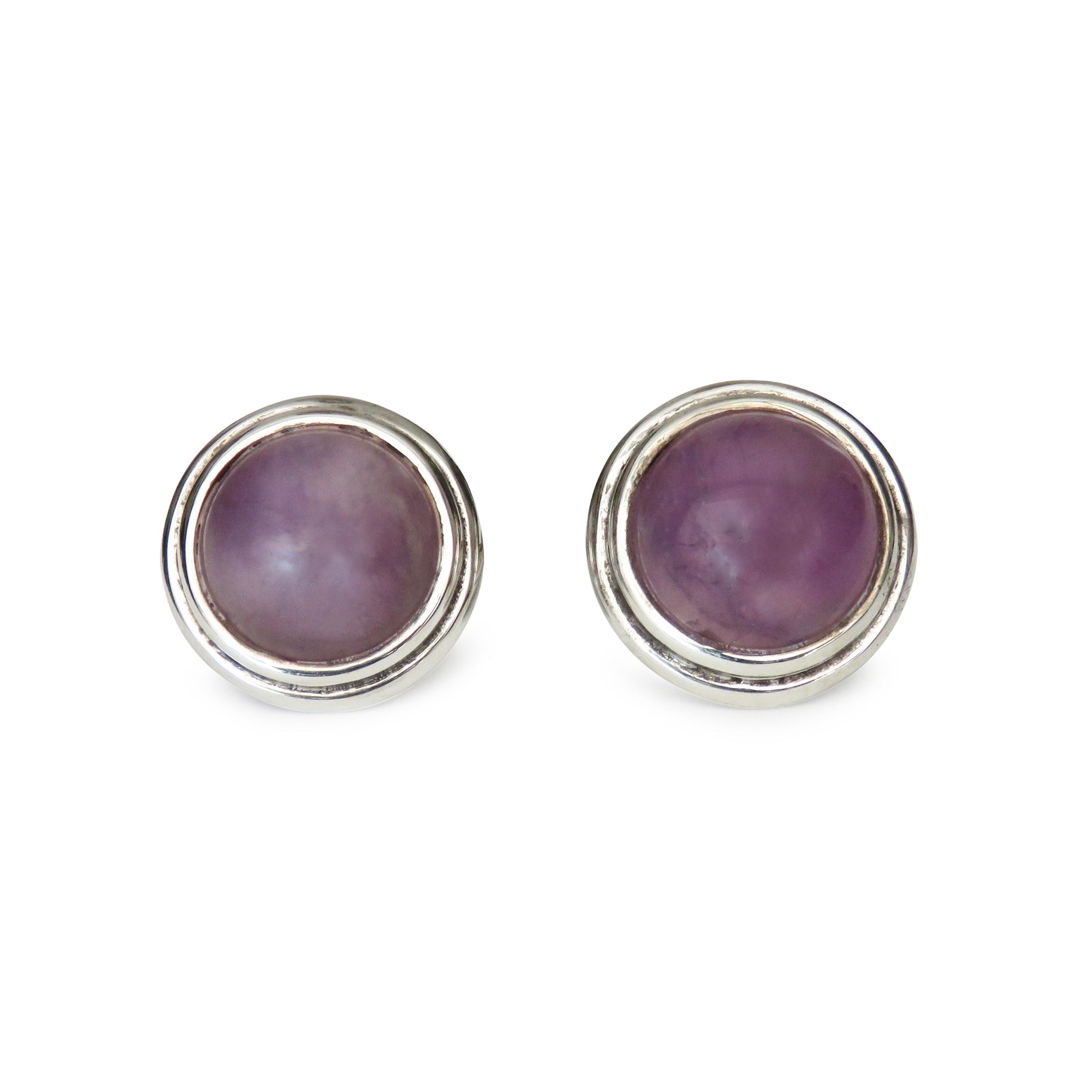 ISABEL ENGLEBERT Dandy Purple Amethyst Cufflinks