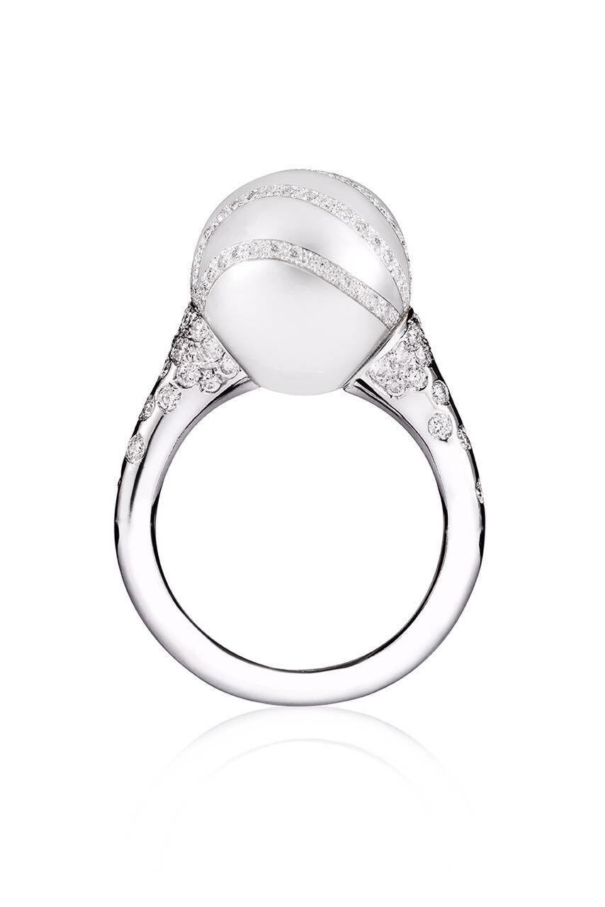 MOZAFARIAN WHITE GOLD RING