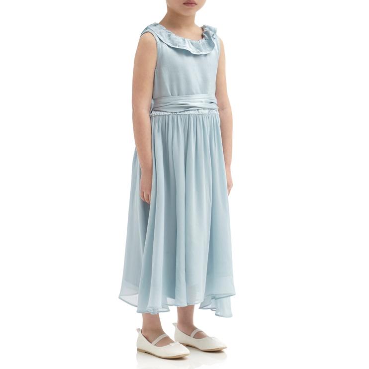 7ceea64b5a1 GHOST Freya Flower Girl - Dress Sky Light
