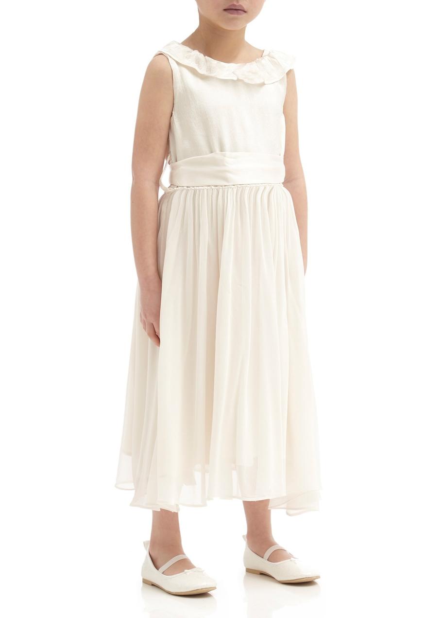 243da66704b Freya flower girl dress - ivory ...