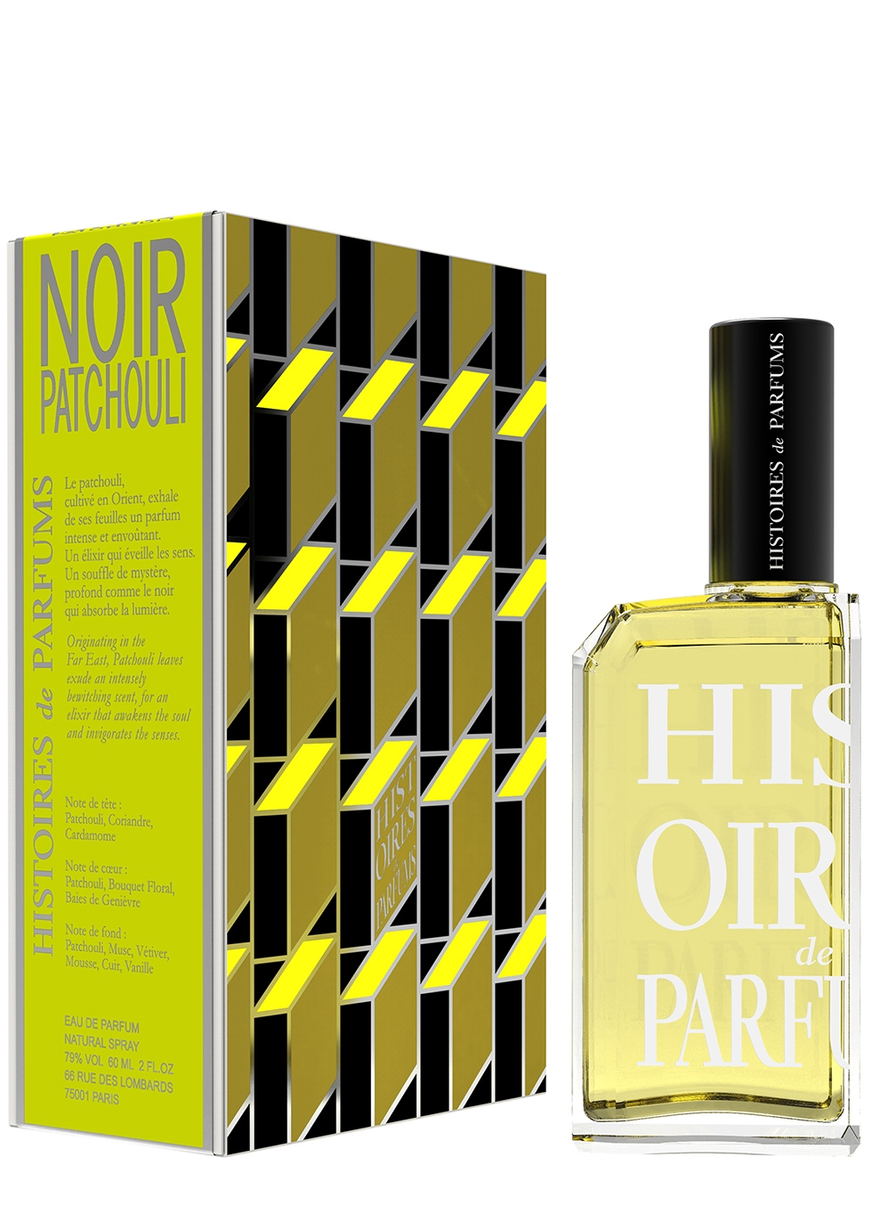 Noir Patchouli Eau De Parfum 60ml - Histoires de Parfums