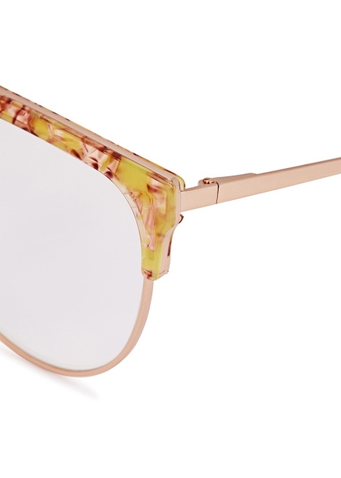 9e505e1e778 FOR ART S SAKE Frost aviator-style optical glasses - Harvey Nichols