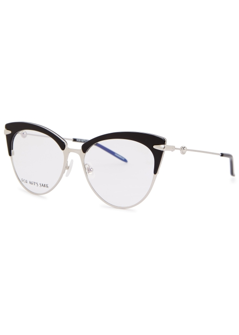 c5ed19c8a24 FOR ART S SAKE Rainy cat-eye optical glasses - Harvey Nichols