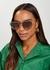 Poppy heart-shaped sunglasses - Chloé