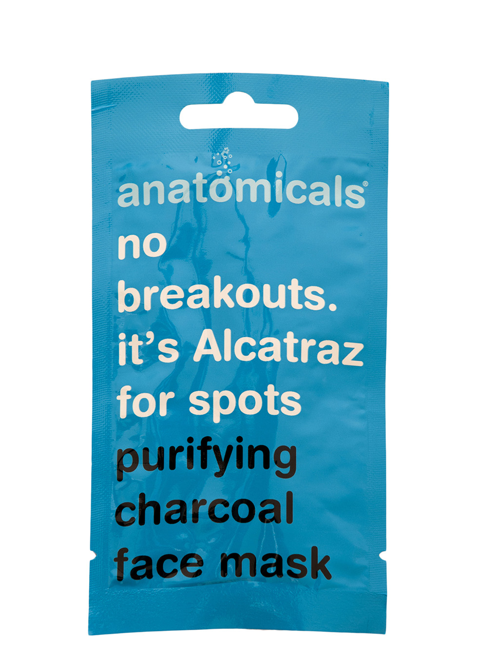 No Breakouts. It's Alcatraz For Spots Charcoal Mask 15ml
