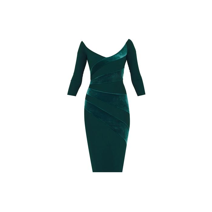 Chiara Boni KALISKA VELVET DRESS