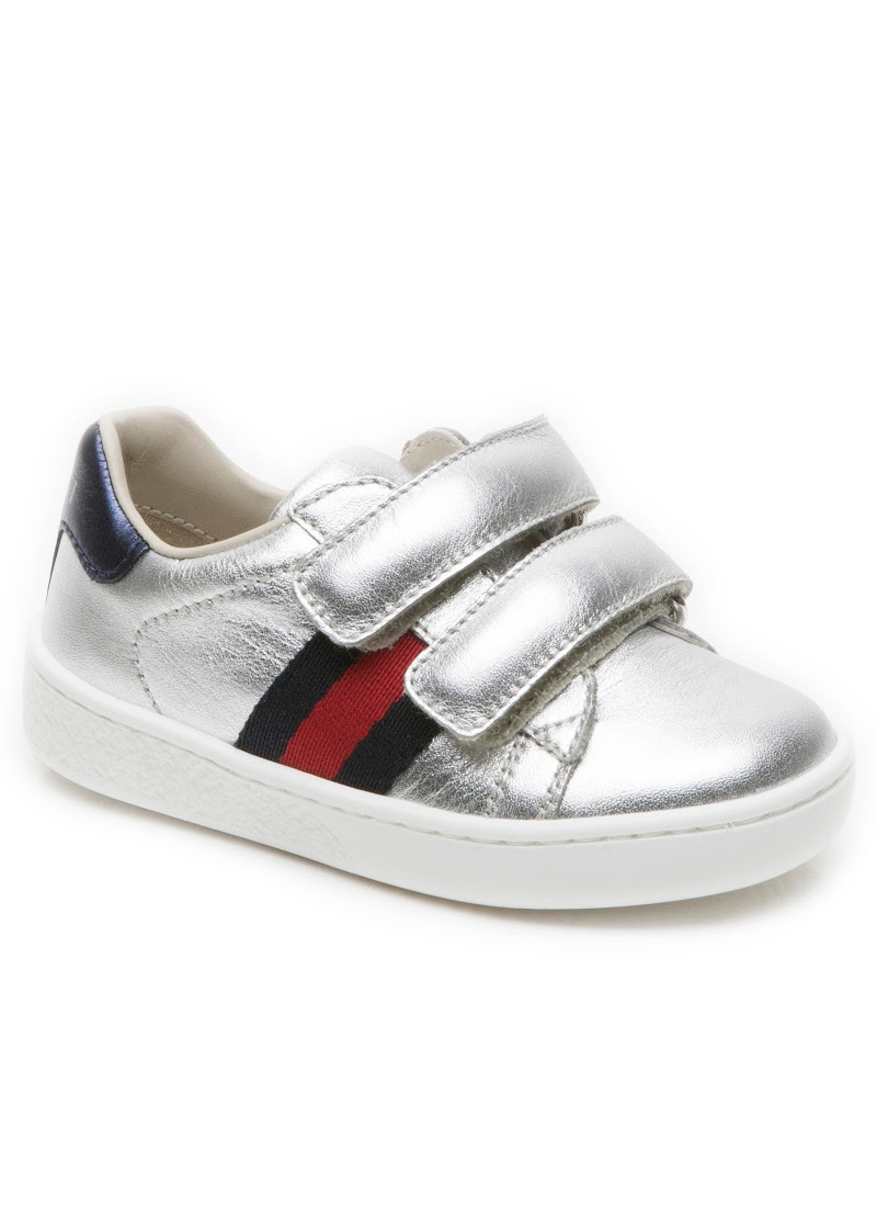 a59ab5b2961 Leather web trainer toddler ...