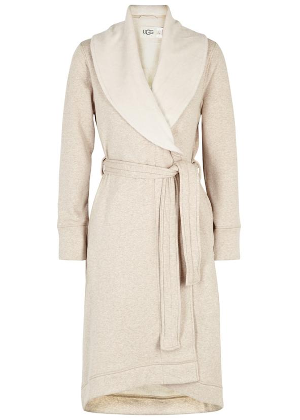 afa93fe5d6 Duffield II fleece-lined cotton jersey robe ...