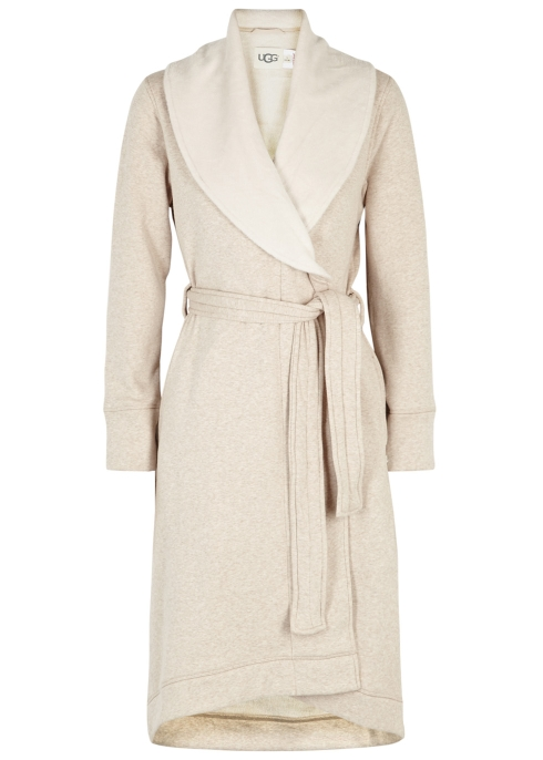 cc845e7430 UGG Duffield II fleece-lined cotton jersey robe - Harvey Nichols