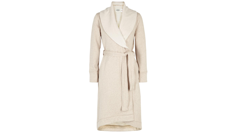 a764b1401f1 Duffield II fleece-lined cotton jersey robe