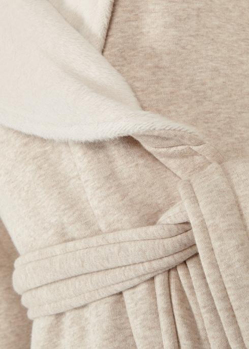 UGG Duffield II fleece-lined cotton jersey robe - Harvey Nichols 9d0d71a60