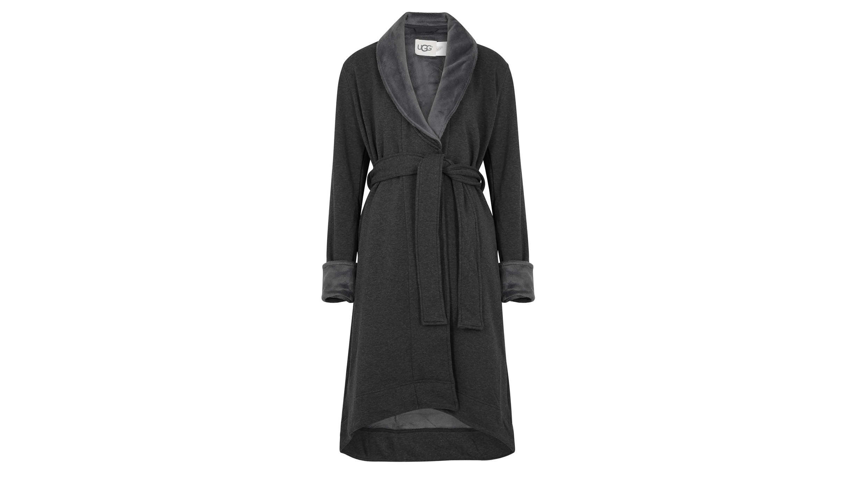 14f816533c UGG Duffield II fleece-lined cotton jersey robe - Harvey Nichols