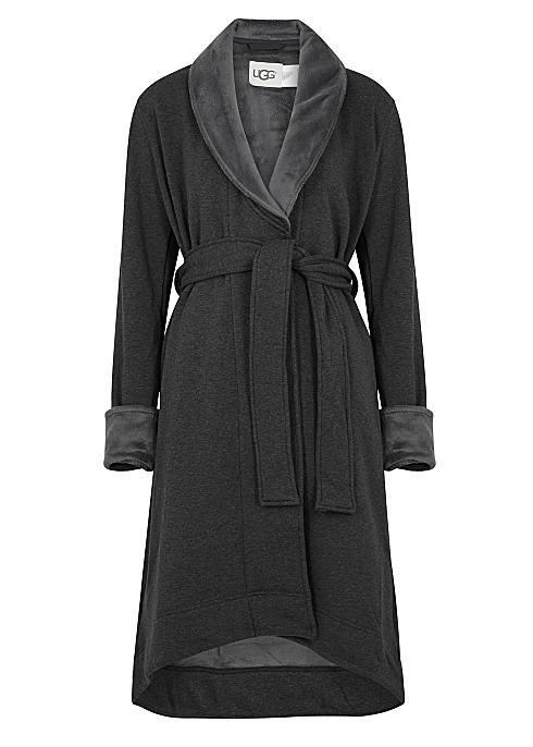 178877a73f3 UGG Duffield II fleece-lined cotton jersey robe - Harvey Nichols