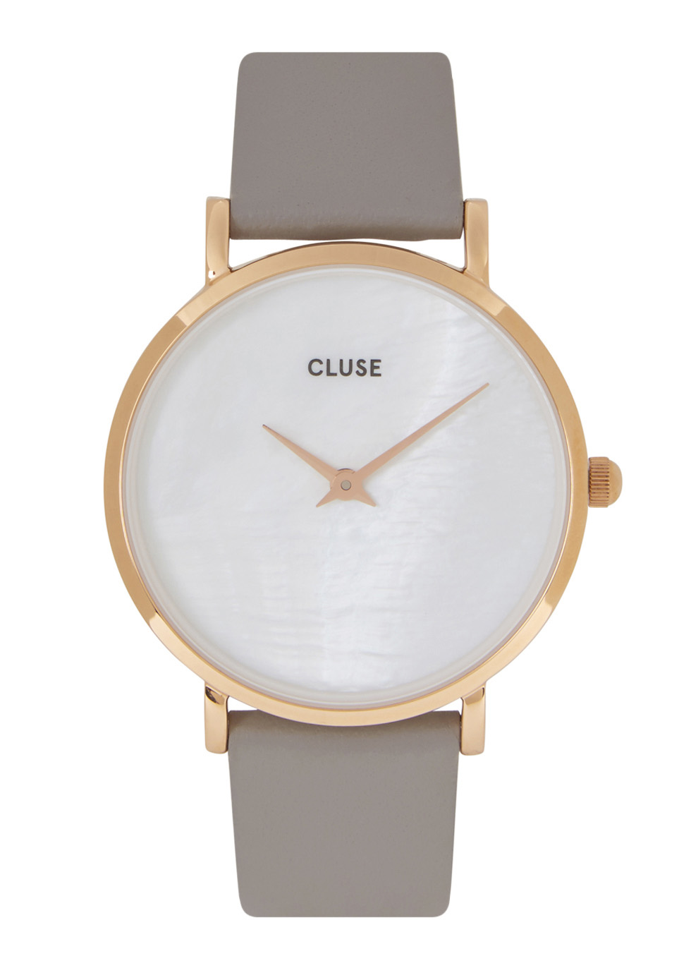CLUSE MINUIT LA PERLE GOLD TONE WATCH