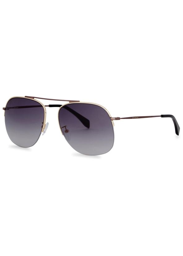 c1a77eaa61 Two tone aviator-style sunglasses