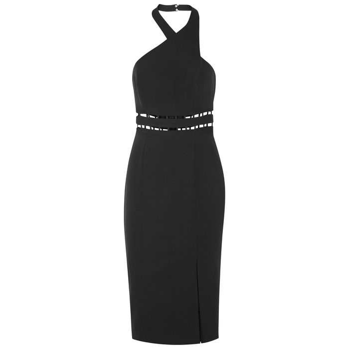 Finders Keepers SOLAR CUT-OUT HALTERNECK DRESS