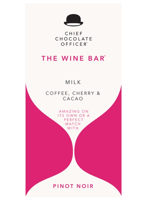 Chief Chocolate Officer The Wine Bar - Milk Chocolate With Coffee