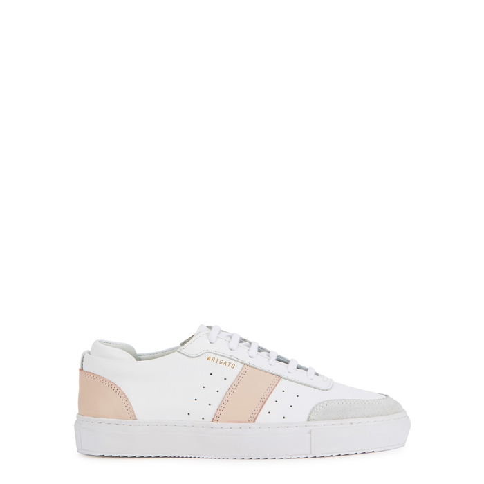 Axel Arigato DUNK WHITE LEATHER TRAINERS