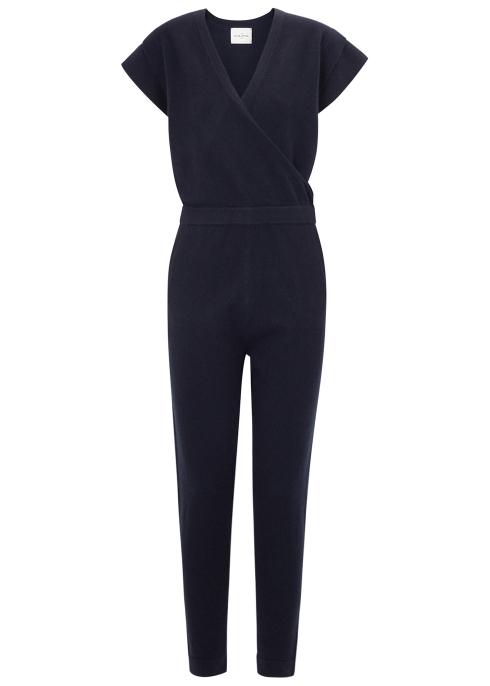 af630f06bd20 Le Kasha Nagoya midnight blue cashmere jumpsuit - Harvey Nichols
