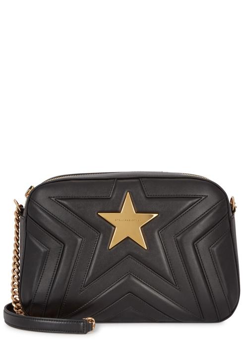 96f2ea7f58bd Stella McCartney Black star shoulder bag - Harvey Nichols
