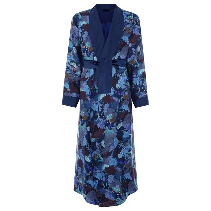 MENG Silk Satin Robe