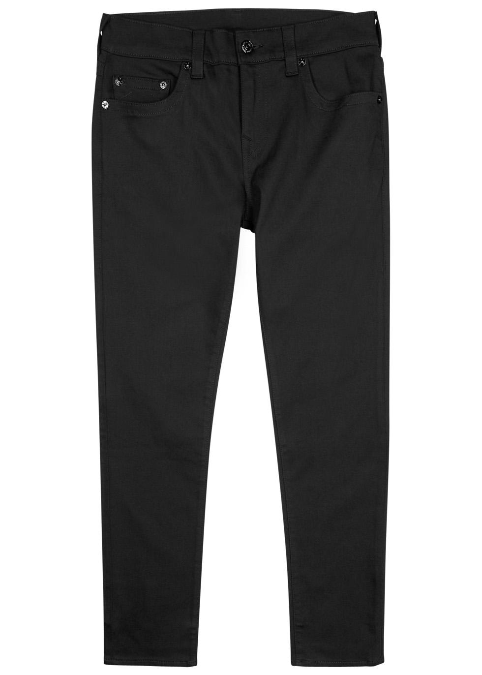 True Religion Rocco Black Skinny Jeans thumbnail