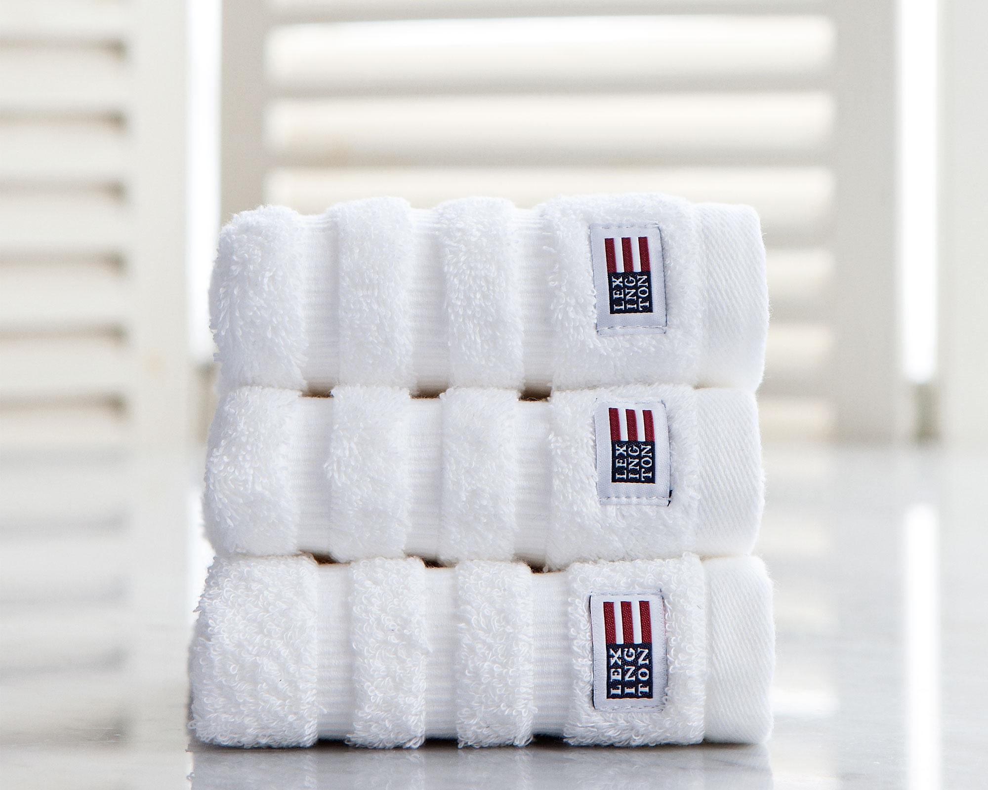 Original hand towel white 50x70 - Lexington