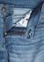 Geno light blue straight-leg jeans - True Religion