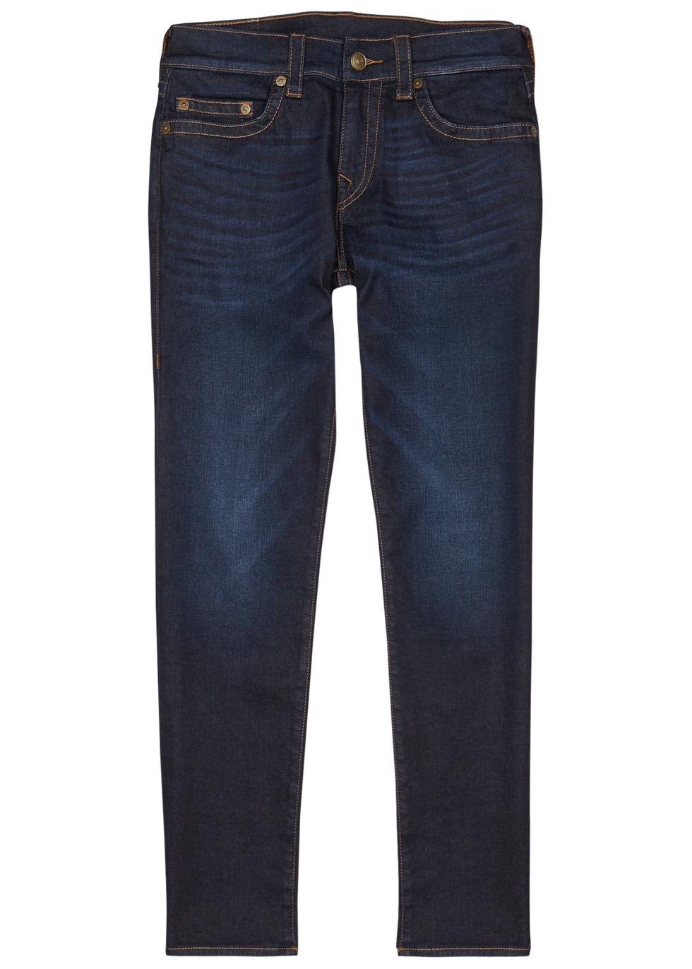 Rocco indigo slim-leg jeans