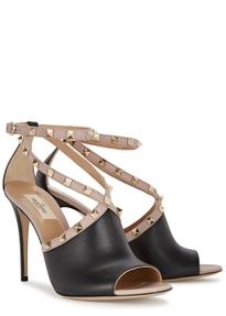 2fcaf3535 105 Rockstud leather sandals 105 Rockstud leather sandals