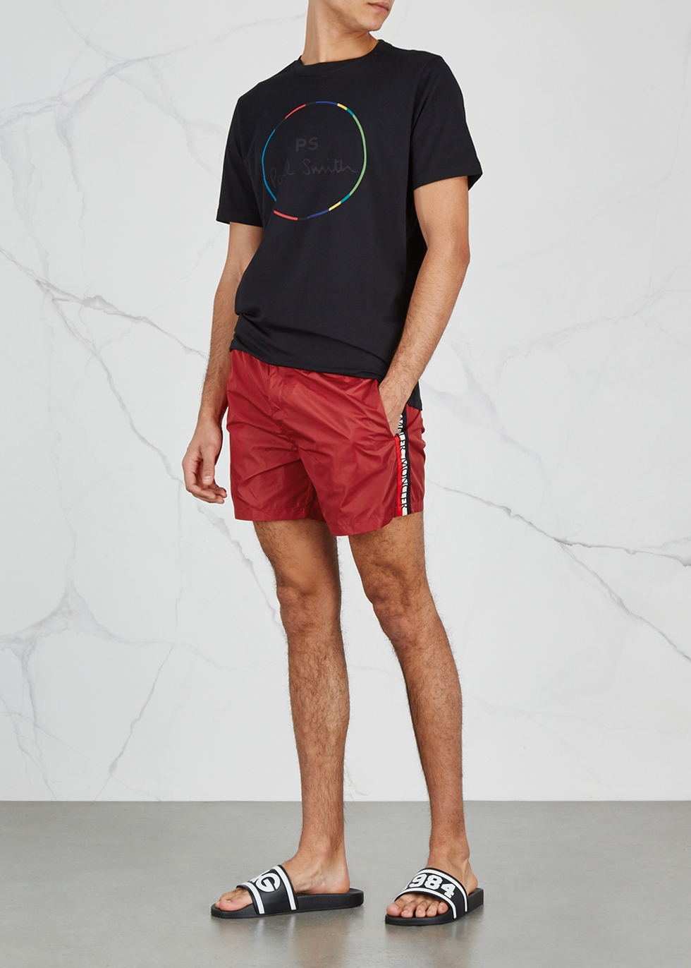 Dolmais red swim shorts Dolmais red swim shorts