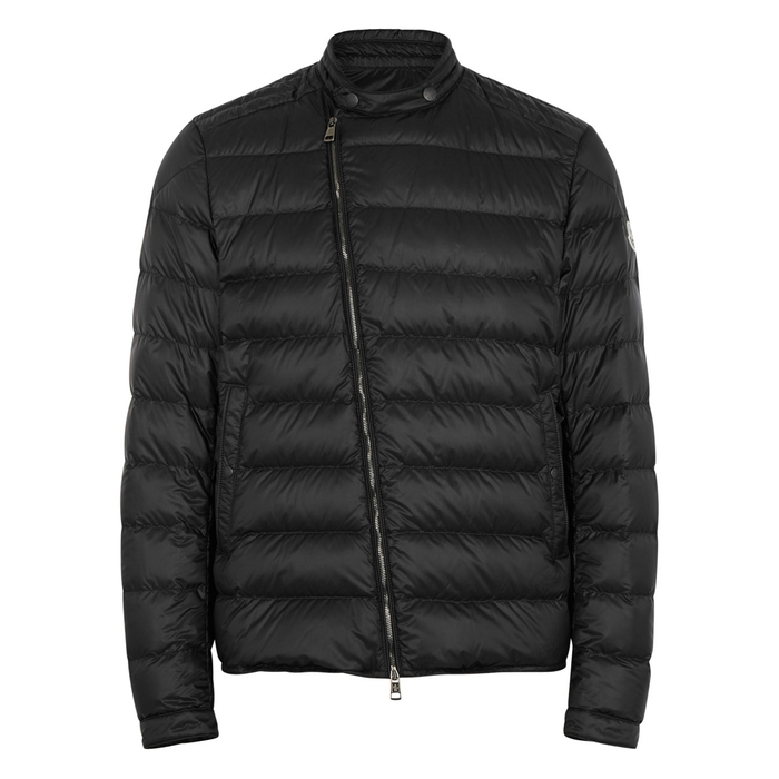 Moncler Crio Black Quilted Shell Jacket