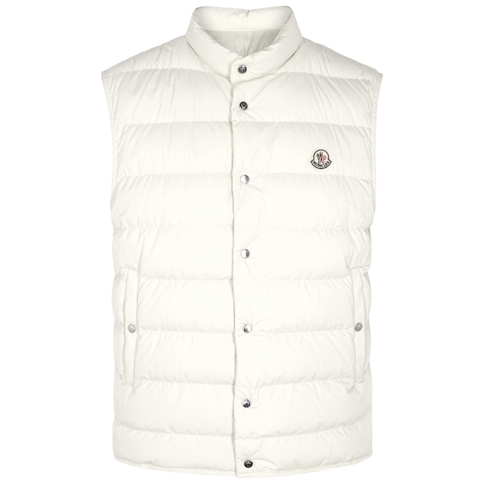 Moncler Febe Quilted Shell Gilet