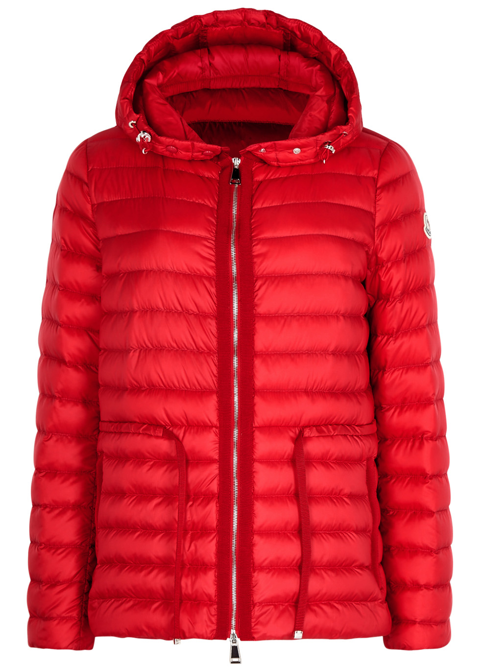 Raief red shell jacket - Moncler