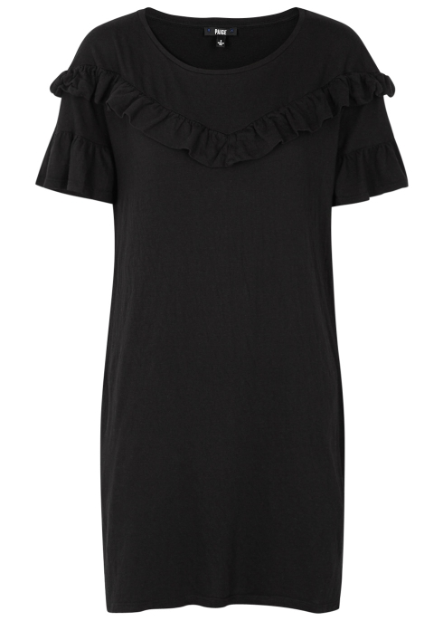 084fa302a9 Paige Adalie ruffle-trimmed jersey dress - Harvey Nichols