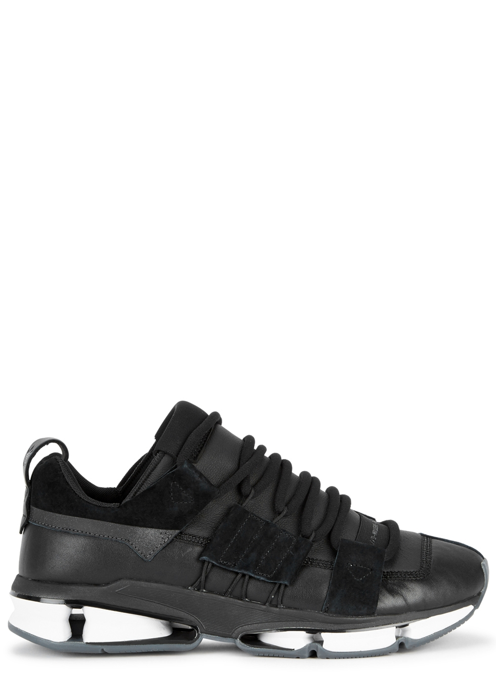 Twinstrike Adv Leather And Suede Sneakers - Blackadidas Originals hGHUMD