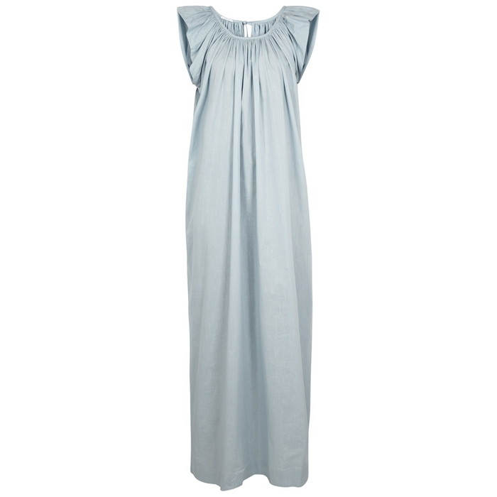 Kalita ANDROMEDA BLUE COTTON MAXI DRESS