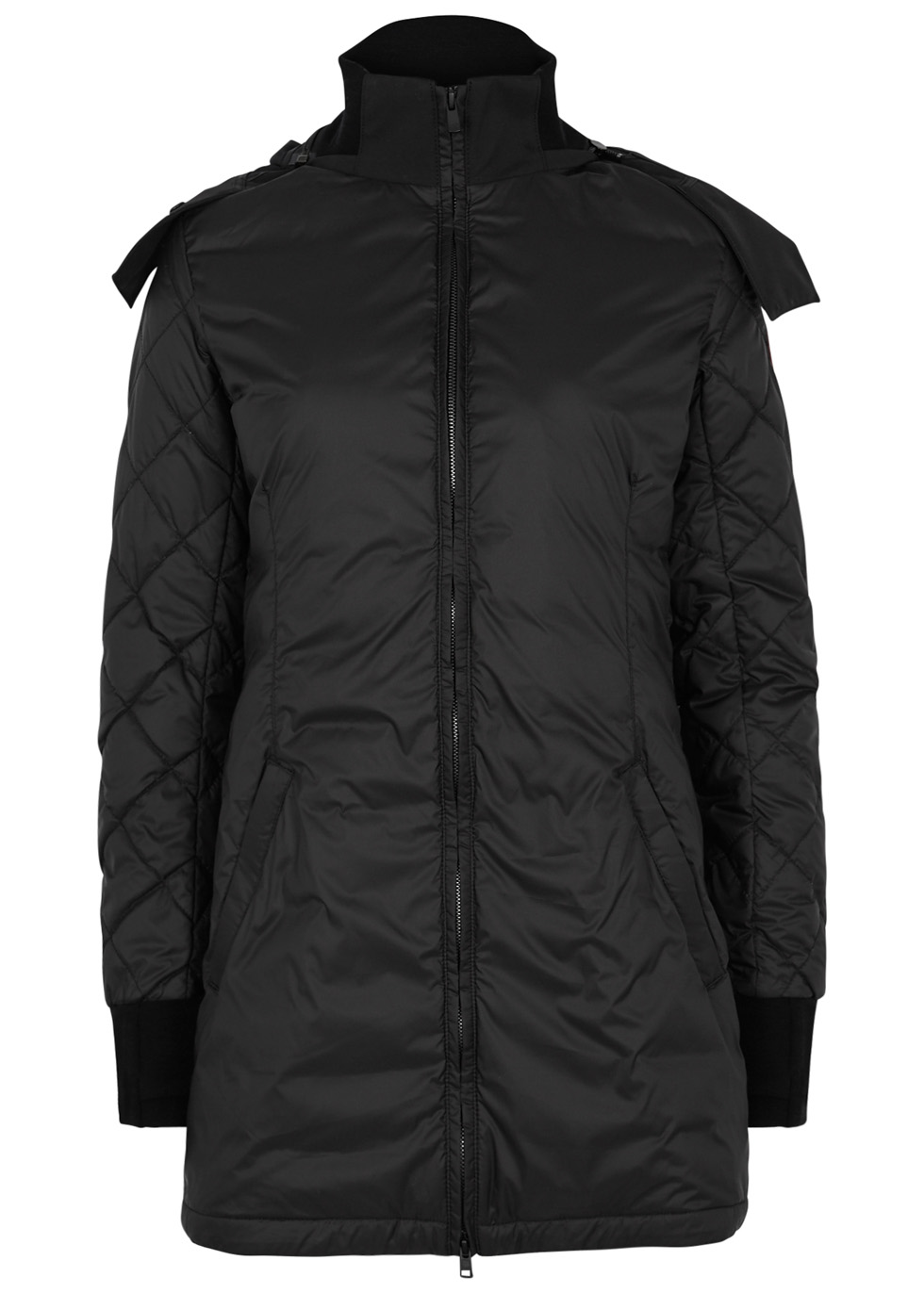 STELLARTON QUILTED SHELL COAT