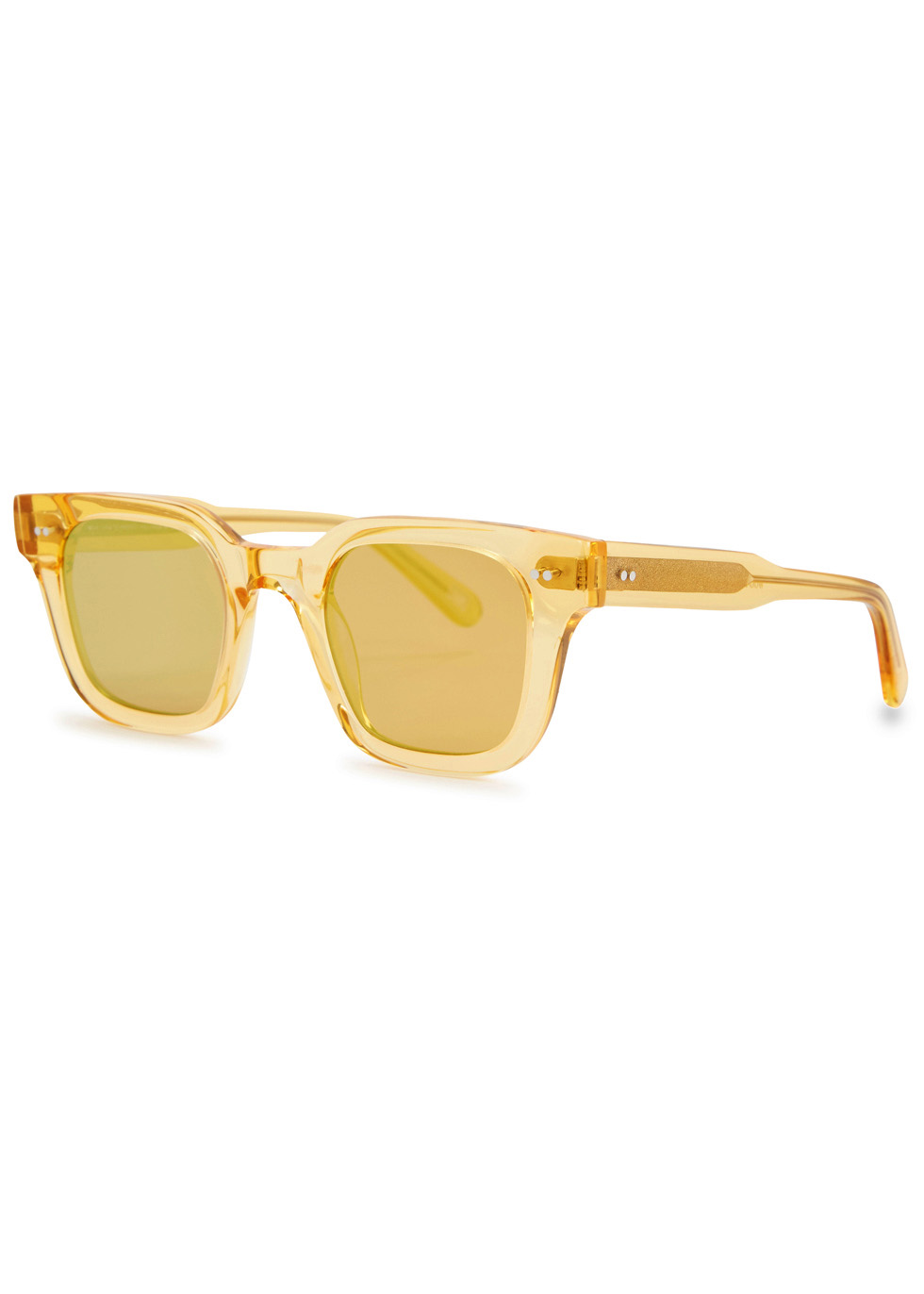 CHIMI 004 Wayfarer-Style Sunglasses in Yellow