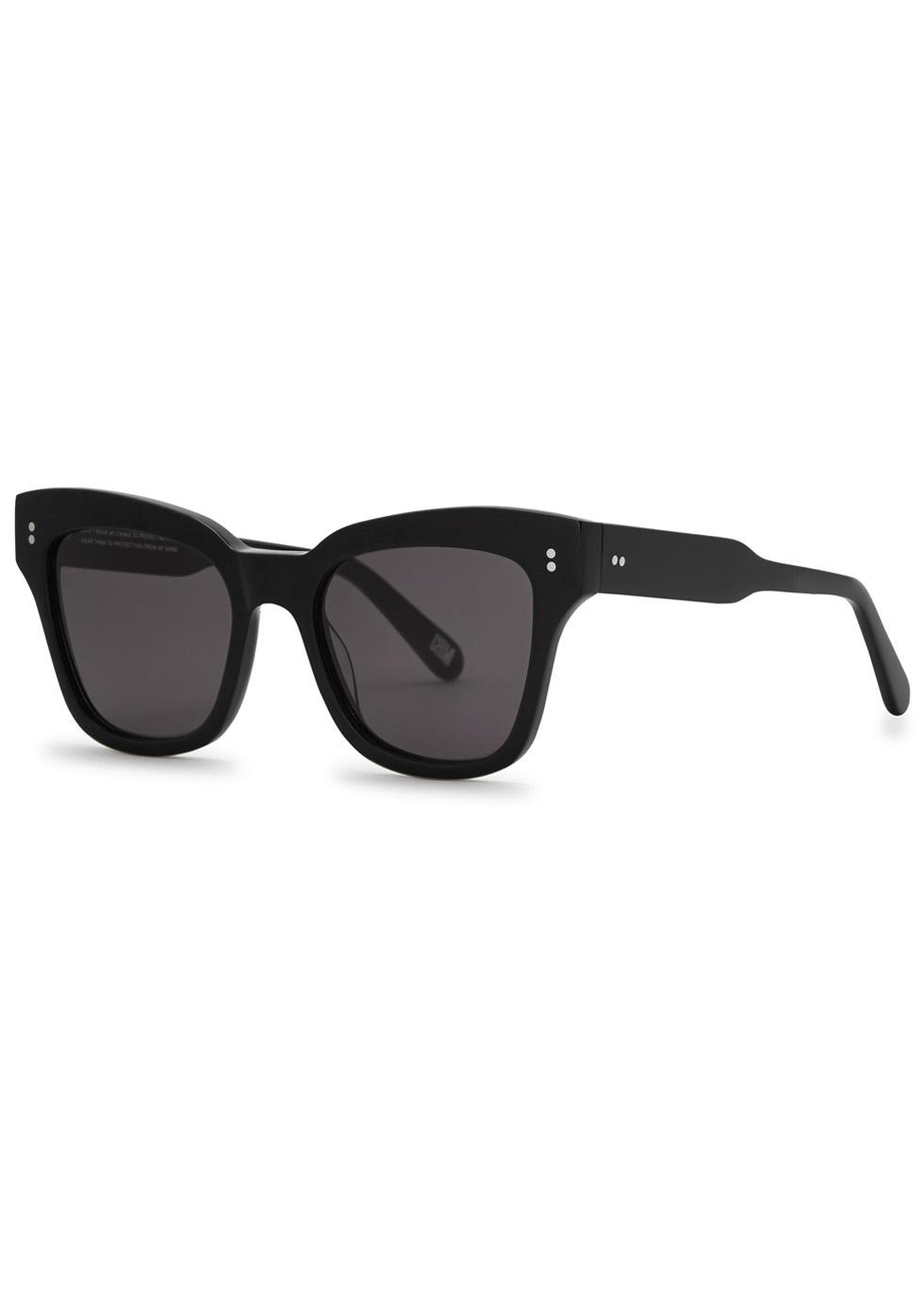CHIMI 005 BLACK WAYFARER-STYLE SUNGLASSES