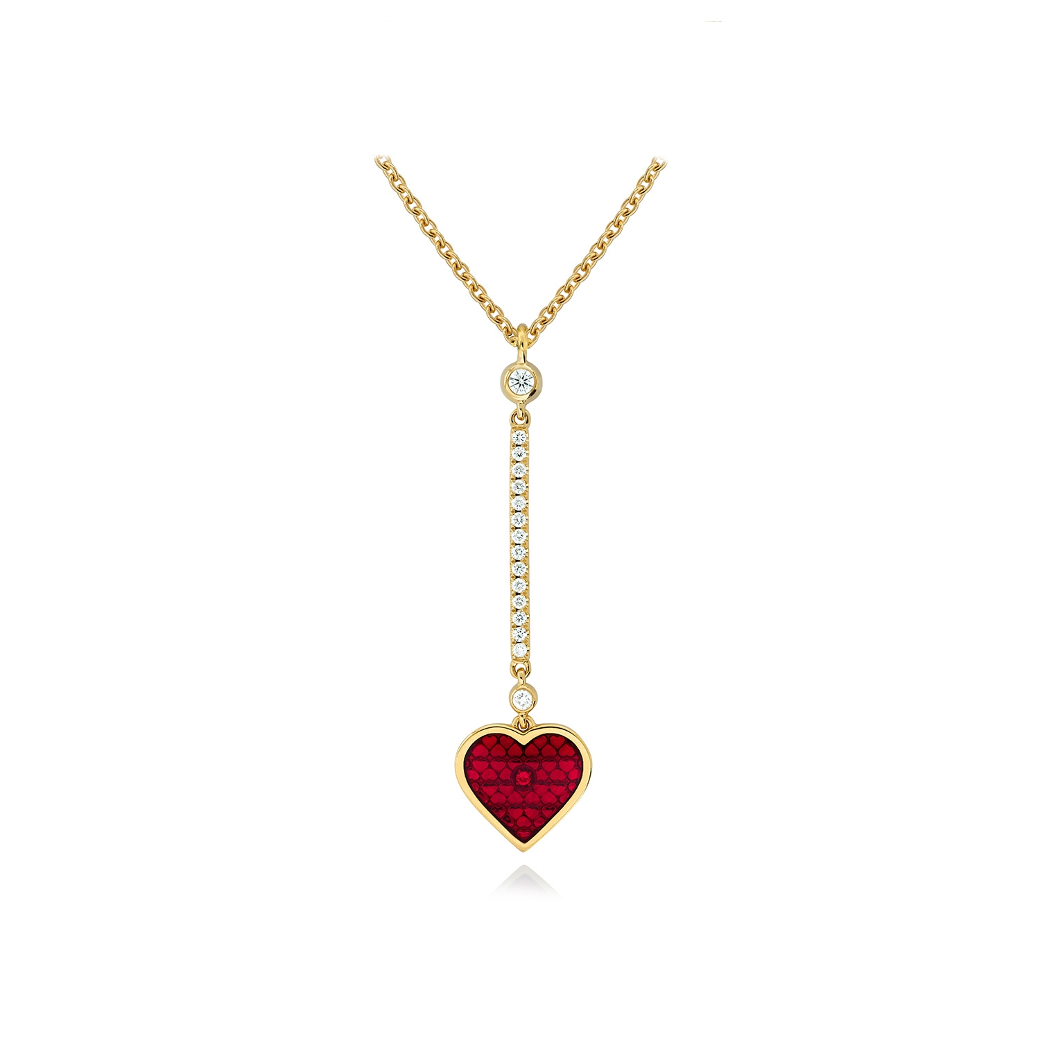 RALIEGH GOSS Royal Heart Pendant