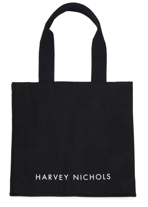 Black Canvas Tote Bag - Harvey Nichols ece1ac04ea53d