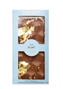 Easter gifts home harvey nichols klimt 23ct gold salted caramel and hazelnut bar 90g negle Images