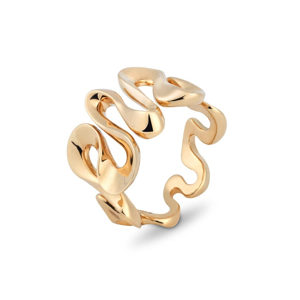 NIQUESA DANCE RING YELLOW GOLD