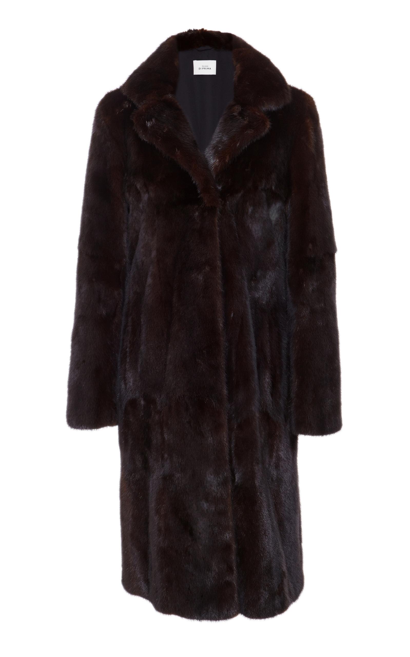 MAISON DI PRIMA Olivia Mink Fur Coat