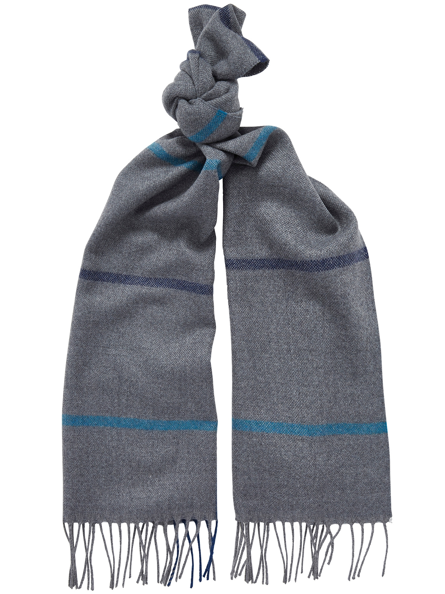 CHESTER BARRIE LAMBSWOOL CHECK SCARF