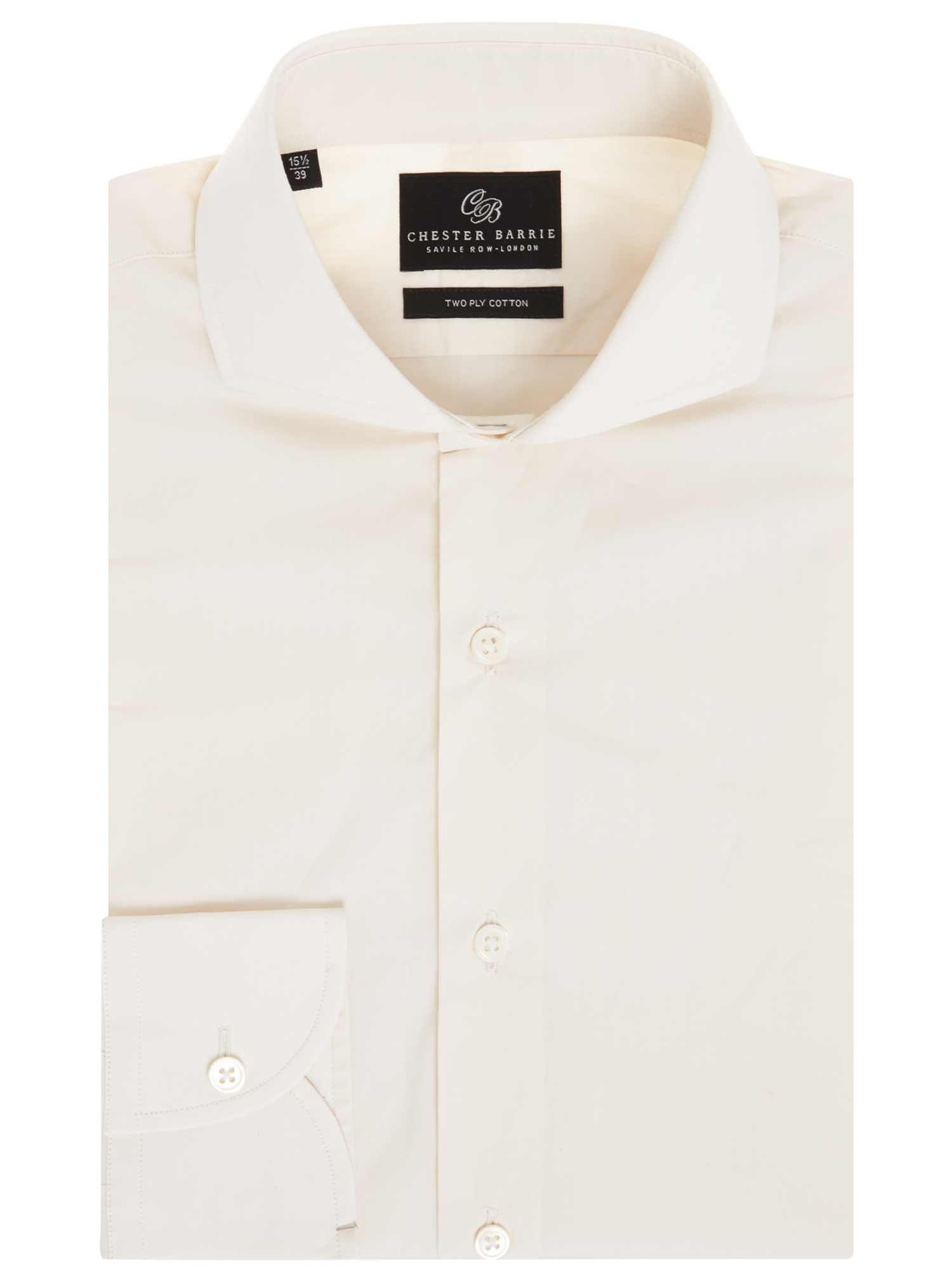 CHESTER BARRIE FINE CHAMBRAY SHIRT